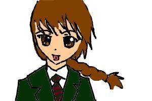 Me in school uniform :)