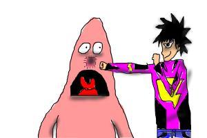 Me vs Retarded Moron chicken Patrick