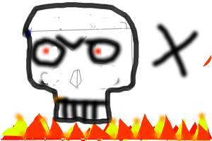 mine night skull