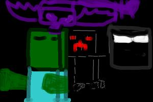 Minecraft: Mobs Of Earth and The end!