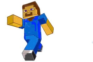 Minecraft Person Drawing By Fantagelover Drawingnow