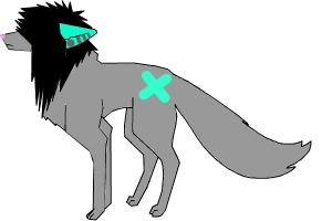 My Custom Emo Wolf