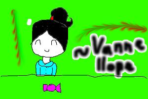 My drawing of vanellope from wreck it ralph