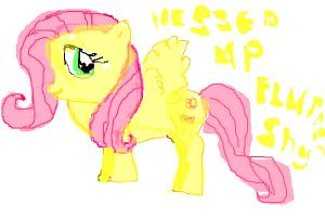 MY MESSED UP FLUTTER SHy