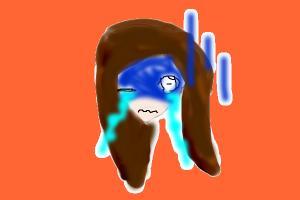 my sad face ( just head0