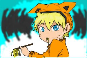 naruto eating ramen coloring pages - photo#33