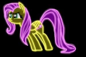 Neon Fluttershy
