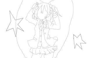 Nico-chan (Lineart)