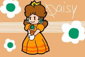 Paper Mario Daisy