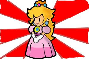 Paper Mario : Princess Peach