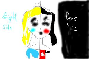 people's bright and dark side