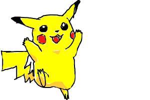 pikacho from pokemon