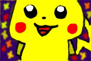 pikachu night festival selfie