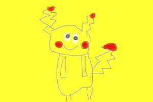 pikachu standing