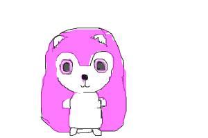 pink hedgehog!