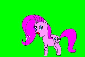 Pinkie Pie mixed with Fluttershy
