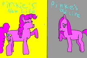 Pinkie Pie: New and Old Life