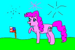 Pinkie Pie's Fourth of July