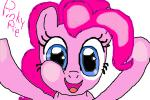 Pinkie pie sees you!