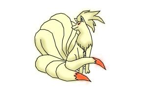 Ninetails from Pokemon