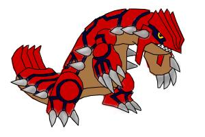 Primal Groudon from Pokemon
