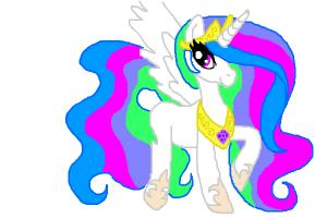Princess Celestia From My Little Pony
