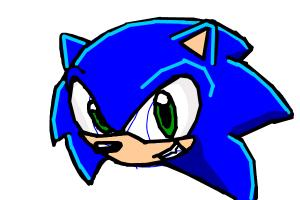 Quick Draw Of Sonic