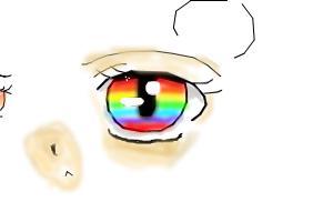 rainbow eye beer :3