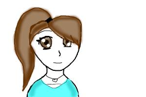 Random anime girl :)