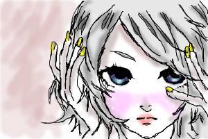 random anime girl :D