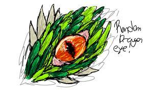 random dragon eye