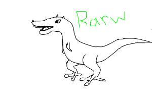 Rarw Im a Dinosaur