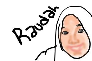 Raudah is my friends