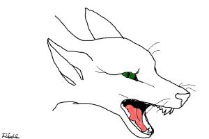 Red Fox Drawing No Color Drawing By Bluestar122 Drawingnow