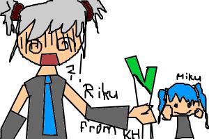 Riku Hatsune xxD