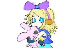 Rin Kagamine requested by MeghanTheFennekin