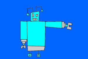Robot without any curves!