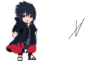 sasuke chibi
