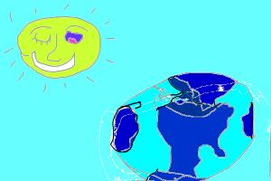 shine on earth