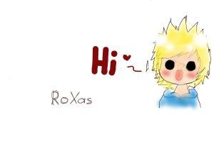 Short Roxas Drawing