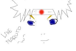 Sketsa Wajah Naruto