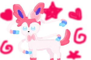 Sylveon painting