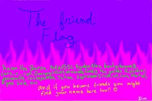 The friend Flag