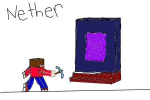to the nether