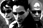 Trinity, Neo and Morpheus