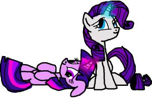 Twilight and Rarity