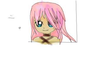 ugly anime girl