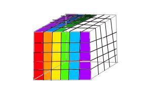 unfinished rubix cube