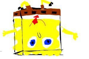 Upside down spongebob!