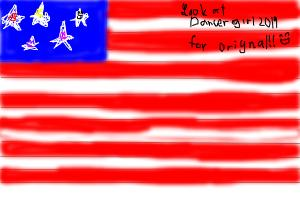 Us flag (Look for Dancergirl2019 for the orignal!!)